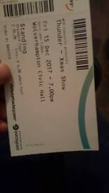 THUNDER CONCERT TICKET