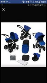 Ikkle bubba pushchair and carseat