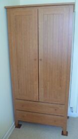 Bedroom or office set Wardrobe ,chest of drawers ,draw unit and desk very sturdy