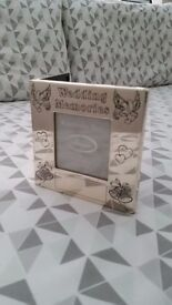 M&S Wedding Memories Keep Safe CD holder & Photo frame