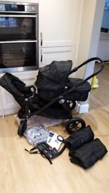 Baby Jogger City Select Double with extras