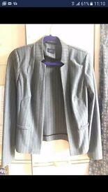 Brand New M&S Pinstripe Blazer - Size 8