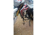 Rieju MRT50 2011 Motorcycle for Spares or Repair