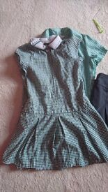 Age 5-6 green school uniform