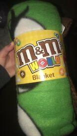 M&M World Blanket