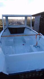 14ft shetland fishing boat