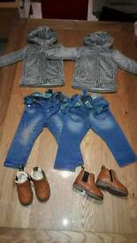 Boys Outfits (x2) 9-12 months