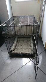 Mediem dog cage