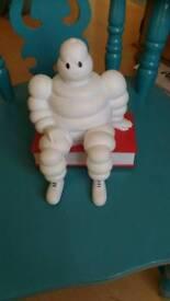 Michelin man plastic money box