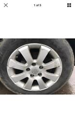 VAUXHALL ASTRA CLUB CDTI 2005 Alloys Wheels Rims