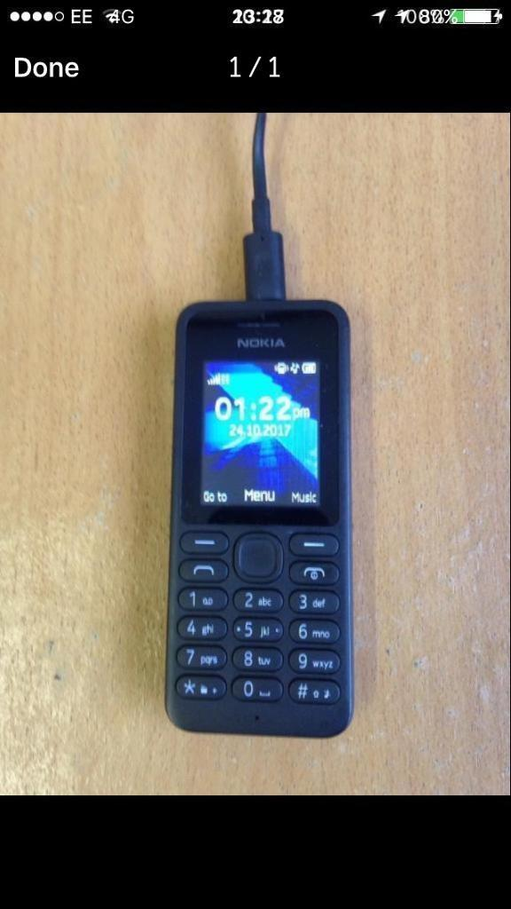 NOKIA 130 WITH £8 CREDIT