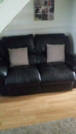 Double recliner 2 seater sofa