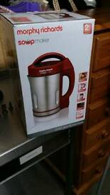 Morphy Richards soup maker brand new