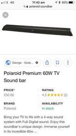 Poloroid premium 60W TV sound bar
