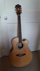Ibanez AEL40SE-RLV electro-acoustic guitar in mint condition