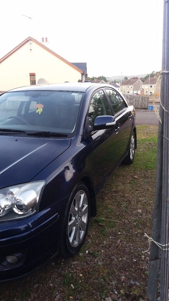 09 toyota avensis 2.0 d4d TR