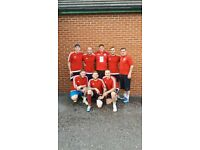 5-A-SIDE FOOTBALL TEAMS WANTED IN TELFORD