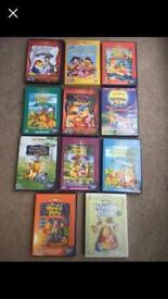 Winnie the Pooh DVD collection