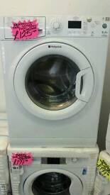 HOTPOINT 6KG 1400 SPIN WASHING MACHINE IN WHITE