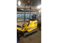 Mini plant for hire diggers dumpers chippers with operator