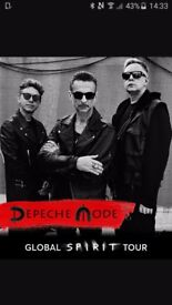 2x DEPECHE MODE TICKETS