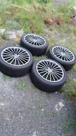 5x114.3 r18 alloy wheels mazda hyundai lexus honda nissan mitsubishi dodge