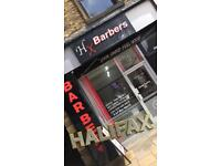 Barber shop running business for sale