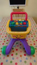 Fisher Price Laugh and Learn Shopping Cart/Walker