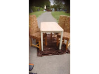 TABLE AND CHAIRS SET. STURDY.LN3 COLLECTION .IDEAL TO UPCYCLE