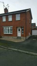 3 bed semi with garage Tandragee