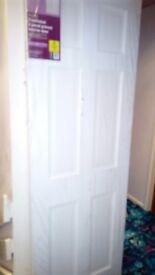Brand new solid 6 panel door