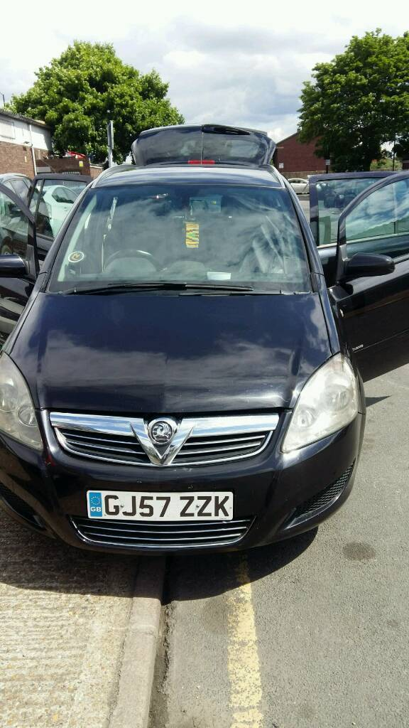 Vauxhall zafira automatic diesel quick sale