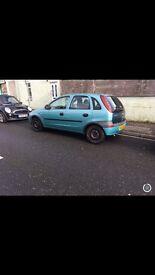 Vauxhall Corsa 1.2 2002