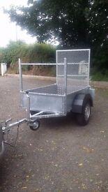 Car trailer 5x3 galvanised