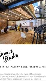 Creative space - perfect space for renting a desk in Bristol