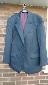Greenwoods 60% wool grey suit