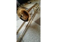 Yamaha YSL-448G Tenor Trombone with F Attachment