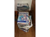 Science magazines (recent) mostly New Scientist 250+ issues £30 or make an offer