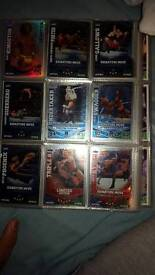 WWE and football cards 2010