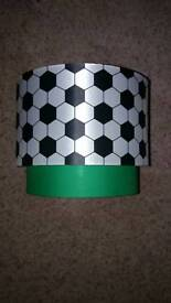 FOOTBALL LIGHT SHADE. NEARLY NEW