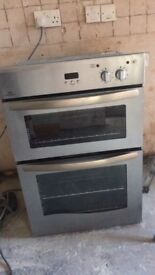 New World NW90DU integrated / built in electric double oven and grill