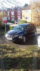 For sale SEAT IBIZA 1.4 diesel 2009 mot and the car is nice in everything or more info 07401350206