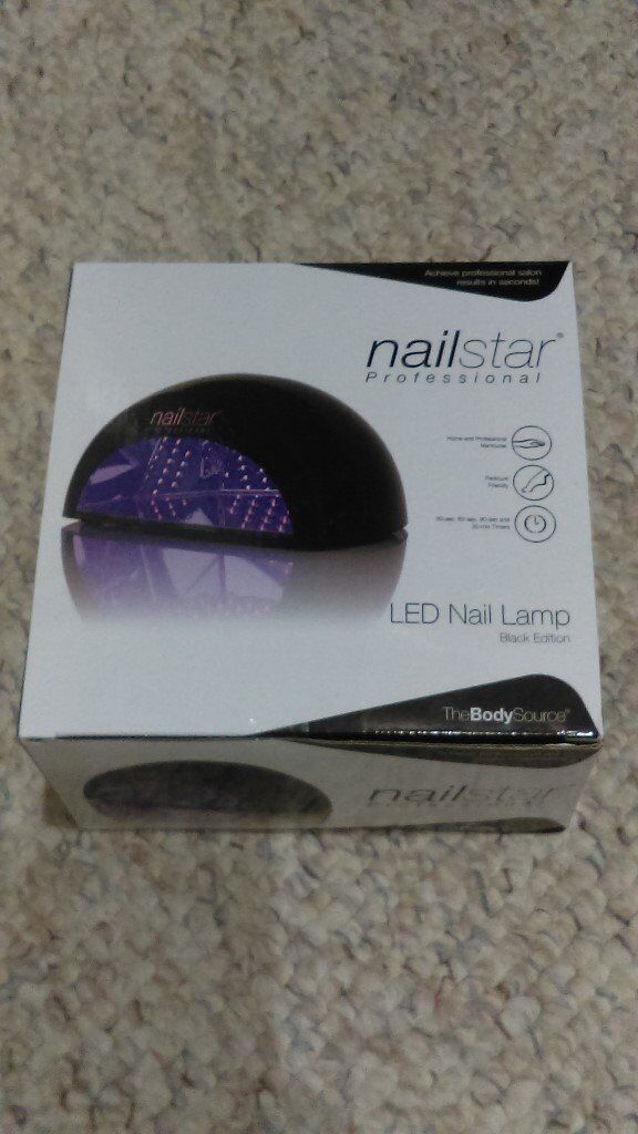 NailStar® Professional LED Nail Lamp Dryer for Gel Polish with 30sec ...