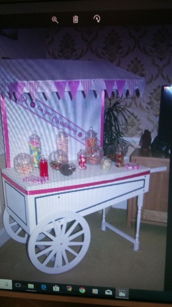 Candy Cart Fully Collapsible