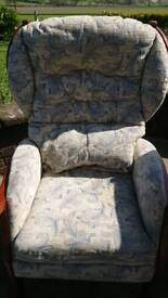 Arm chair and 2 seater sofa