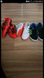 Adidas trainers/football boots