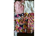 Baby girl bundle mix of first size to 9 months