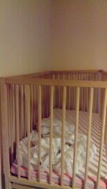 Baby Cot just one year old not used much