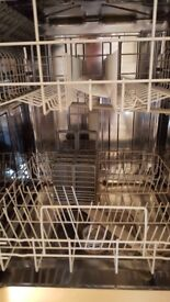 Hoover Candy freestanding dishwasher silver 60cm AS NEW A+ efficiency