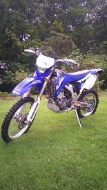 2007 Yamaha WR250f Enduro